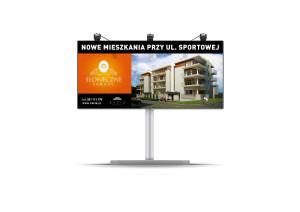 billboard Słoneczne tarasy racis