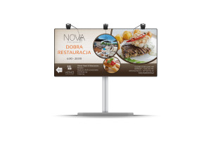 billboard restauracja Nova
