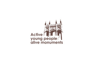 Logo Active young people alive monuments
