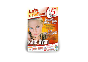 Plakat lata z radiem 5 2007