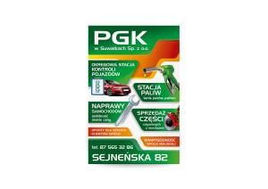 Plakat PGK Suwałki